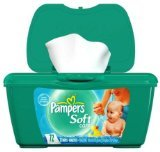 Pampers Baby Wipes Baby Fresh - 72 Count (Pack of 2)