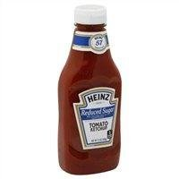 Heinz Reduced Sugar Tomato Ketchup, 13 oz (Pack of 6)