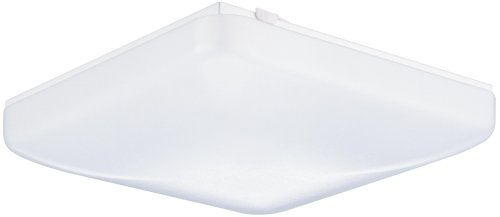 Lithonia Lighting One-Light Fluorescent Flush-Mount Ceiling Fixture, White Acrylic Globe #Fm 22 Acls Lp R4
