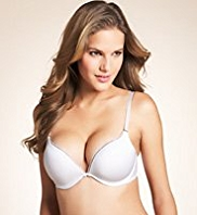 Underwired Lace 2 Cup Sizes Bigger Push-Up A-D Bra