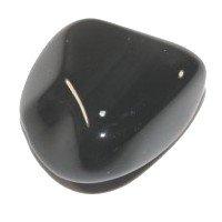 3 x Apache Tear Tumblestones (Smokey Obsidian) by balance crystals plus