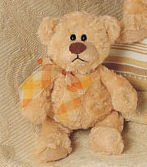 Bear Plush, 6 Inches (Mini Manni Teddy Bear from Gund)