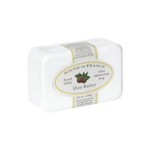 South of France, French Milled Soap : SHEA BUTTER - 8.8 oz ( Multi-Pack)