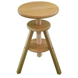 bar stool oak wood laquer finish kitchen home