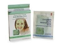 Skin Benefits Cucumber Anti Wrinkle Face Mask (2 pre-moistened masks)
