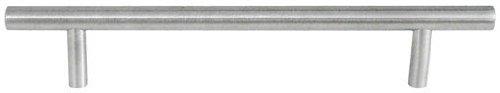 Fackelmann 84357 Active Reling-Griff, Edelstahl-Optik, Bohrlochabstand 128 mm