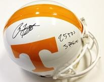 Arian Foster Autographed Authentic Pro Tennessee Volunteers Helmet Career Stats -... by Sports+Memorabilia