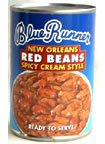 Blue Runner Creole Cream Style Red Beans - Orleans Spicy (6-pack)