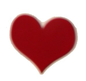 Red Heart Scratch Off Stickers