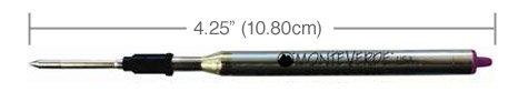 Monteverde L131PK Recharge pour Stylo-bille Rose Lot de 2