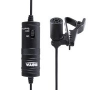 Boya BY-M1 Mini Lavalier Microphone(Black)