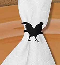 Nr 1 Rooster Napkin Ring