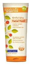 Freeman Good Stuff Organics Revitalizing Facial Mask, Pumpkin Enzymes & Vitamin C 6 fl oz (150 ml)