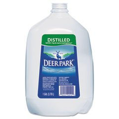 ** Distilled Water, 1gal, 6/Carton