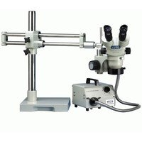 Luxo 23711Rb System 273Rb-Rli Stereo Zoom 23Mm Binocular With Ball-Bearing Boomstand And Fiber Optic Ring Light