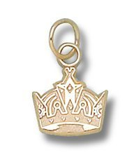 Los Angeles Kings Crown Logo 3/8&quot; Charm/Pendant