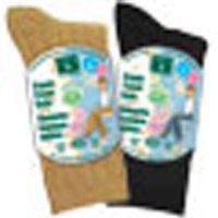 Women's Organic Trouser Socks Black 1 Pair