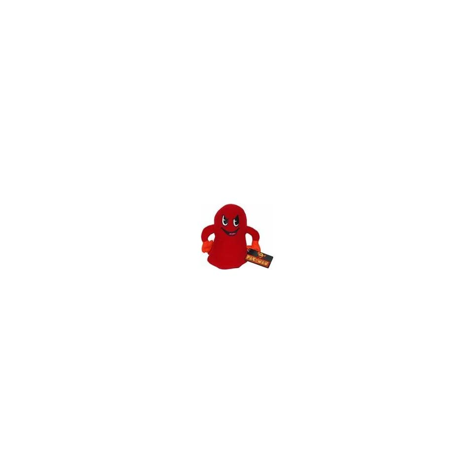 Pac Man 7 Plush Figures Red Ghost