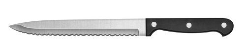 Ginsu Essential Series 05114 Bread Knife, 8-Inch, Black