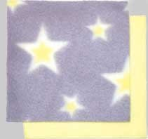 Taggies - Little Taggie Baby Comfort Blanket - Yellow Stars