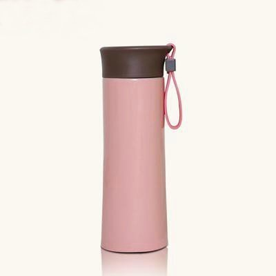 Royalstyle Stainless Steel Heat/Cold Dual-Use Vacuum Cups Good Gift For Christmas 10.6-Ounce/0.3-Liter Outdoor Mini Cup (Pink)