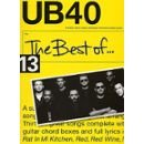 Partition : The Best Of UB40 - Piano, Voix, Guitare - Book Only PVG(B) 64pp