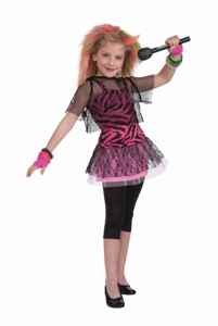 80s Rock Star Child Costume Size 12-14 Large