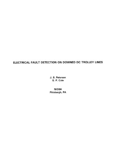 Electrical Fault Detection on Downed DC Trolley Lines