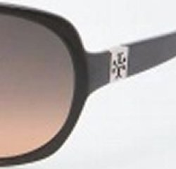 Tory Burch Tory Burch TY7033 Sunglasses - 501/95 Black (Gray Orange Fade Lens) - 58mm