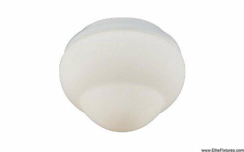 Monte Carlo MC214WH Fluorescent Ceiling Fan Light Kit, White Finish