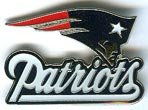 NFL New England Patriots Logo Pin at Amazon.com