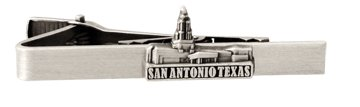 LDS San Antonio Texas Temple Silver Steel Tie Bar - Tie Clip - Priesthood Gift, LDS Missionary, Tie Clip