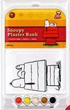 Snoopy House Plaster Bank