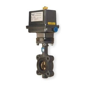 Butterfly Valve, Electric, Size 6 In