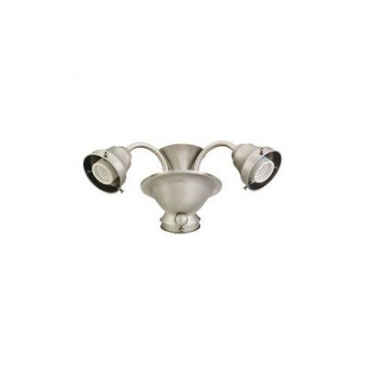 Sea Gull Lighting 1622-965 3-Light Ceiling Fan Light Kit, Antique Brushed Nickel