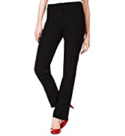 M&S Collection Flat Front Slim Leg Trousers