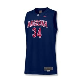 Arizona Wildcats Youth Replica Nike Basketball Jersey