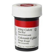 WILTON RED RED ICING COL 1OZ 610-906