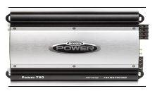 Jensen Power760 4-Channel 760 Watt Amplifier (Black)