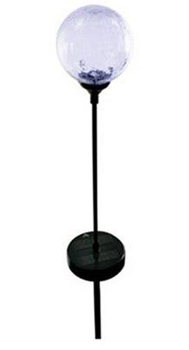 Moonrays 99924 Color-Changing Glass Ball Fixture