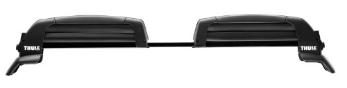 Thule 5401 Snowcat 6-Ski Roof Mount Carrier for Raised Rail Factory Racks (Rail Rack Thule compare prices)