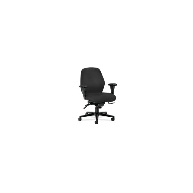 HON Company Products   Mid Back Task Chair, 30 1/2x35x42, Wine   Sold as 1 EA   Mid back task chair features deeply contoured foam that supports the body for all day comfort. Control options encourage good posture. Curvilinear back has pronounced lumbar