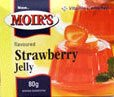 Moirs Strawberry Jelly 80g Box