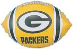 "Green Bay Packers Football 18"" Foil Balloon - 1"
