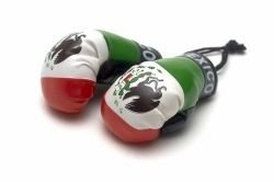 Mexico - Mini Boxing Gloves - 1