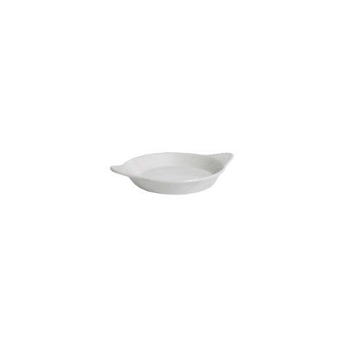 Tuxton Ben-1202 15 Oz. Round Eggshell Shirred Egg Dish - 12 / Cs