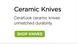 CeraKook Ceramic Knives