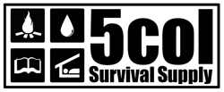 5col Survival Supply Logo