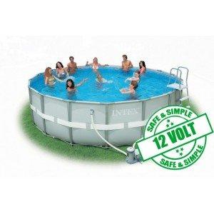 avis intex piscines hors sol intex piscine intex en kit ultra frame avec filtration 4 88 x. Black Bedroom Furniture Sets. Home Design Ideas