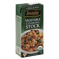 Imagine Cooking Stock, Vegetable, Organic, 32 Oz. (Pack of 6)